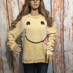 Wildfox Smiley face sweater